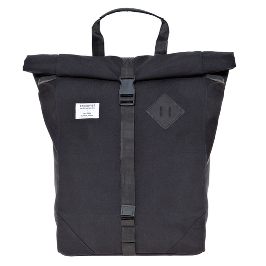 sandqvist eddy backpack black @ Men's Bag Society