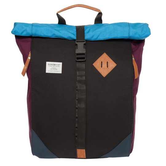 sandqvist eddy multicolor backpack @ Men's Bag Society