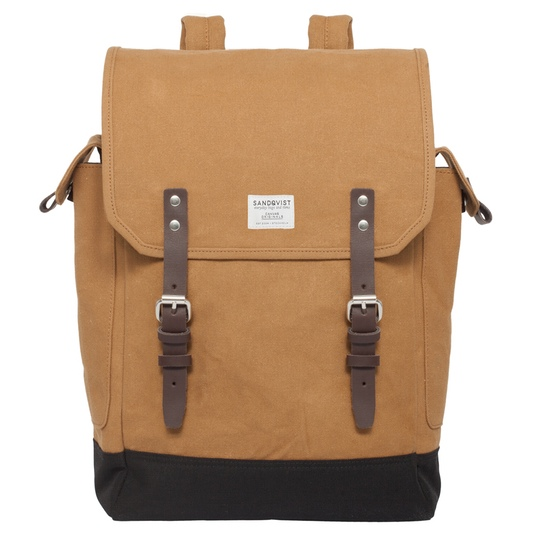 sandqvist bob backpack olive @ Men's Bag Society
