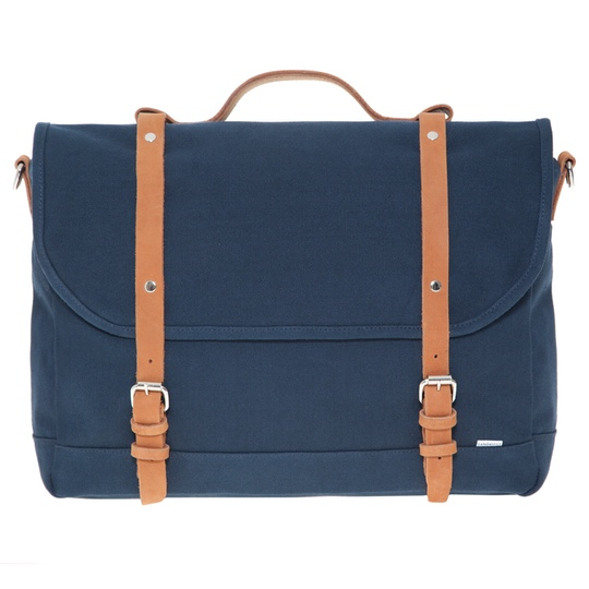 sandqvist izzy messenger blue @ Men's Bag Society