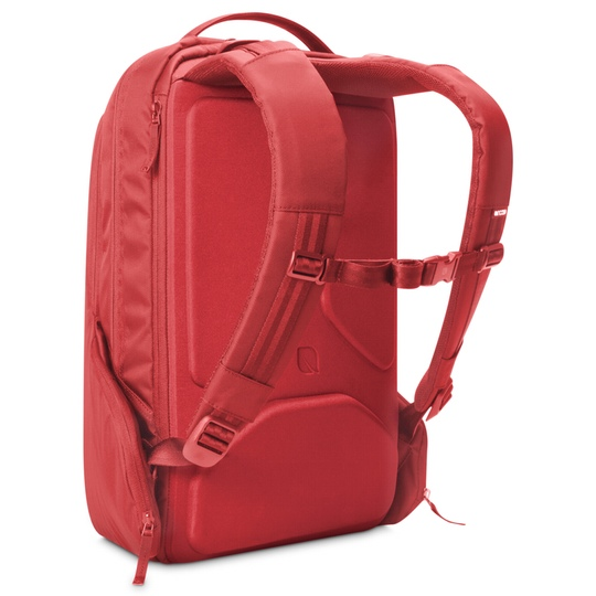 Incase icon red backpack @ Men's Bag Society