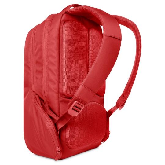Incase icon slim red backpack @ Men's Bag Society