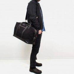 daf98a15215f Sandqvist Jordan Weekender – Black – Men s Bag Society